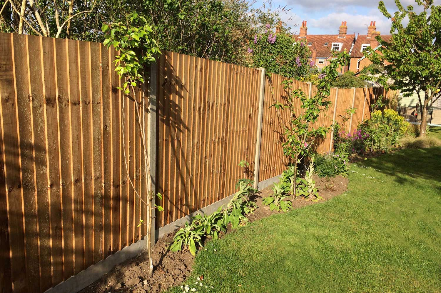 Garden Fencing Norfolk Harleston Diss Long Stratton